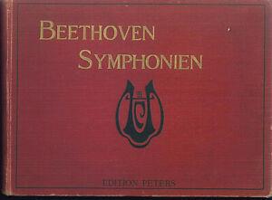 Beethoven-Symphonien-Klavier-4-haendig-gebunden
