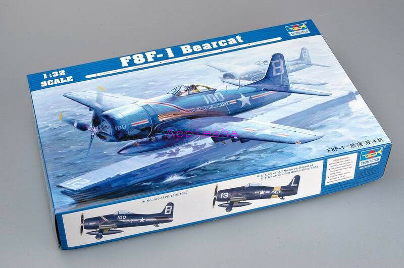 Trumpeter 02247 1 32 F8F-1 Bearcat
