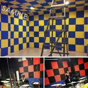 50x50cm-Soundproof-Acoustic-Sound-Insulation-Stop-Absorption-Studio-Foam-S-Uylj