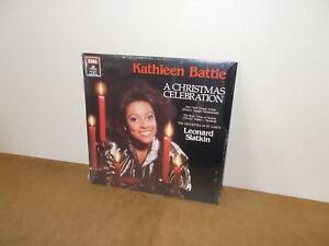 KATHLEEN-BATTLE-A-CHRISTMAS-CELEBRATION-LP-USA-1986-SEALED-Classical