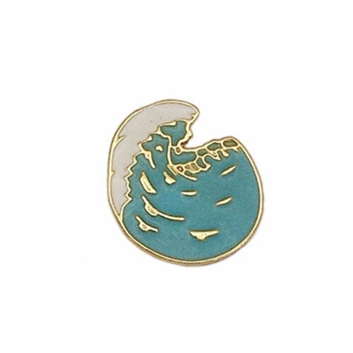 Shellfish Plant  Sea Wave Brooches for Hat Scarf Suit Lapel Enamel J
