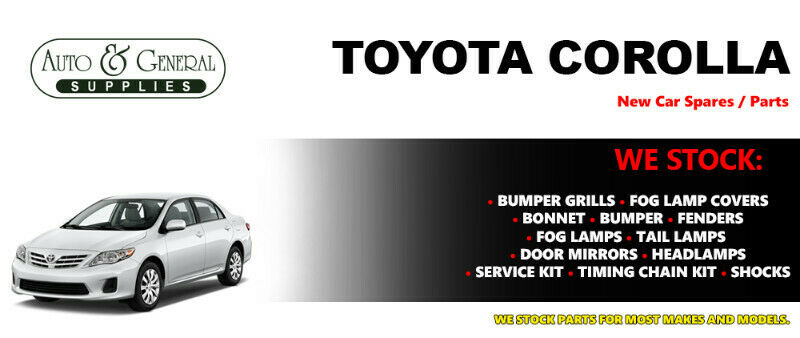 Toyota Corolla 2010 Parts and Spares For Sale.