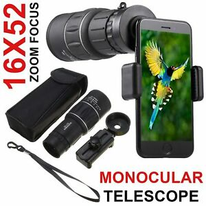 16X52-HD-Optical-Dual-Focus-Monocular-Day-Night-Vision-Camping-Hiking-Telescope