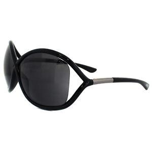 2fabd2e24d5 Image is loading Tom-Ford-Sunglasses-0009-Whitney-199-Shiny-Black-