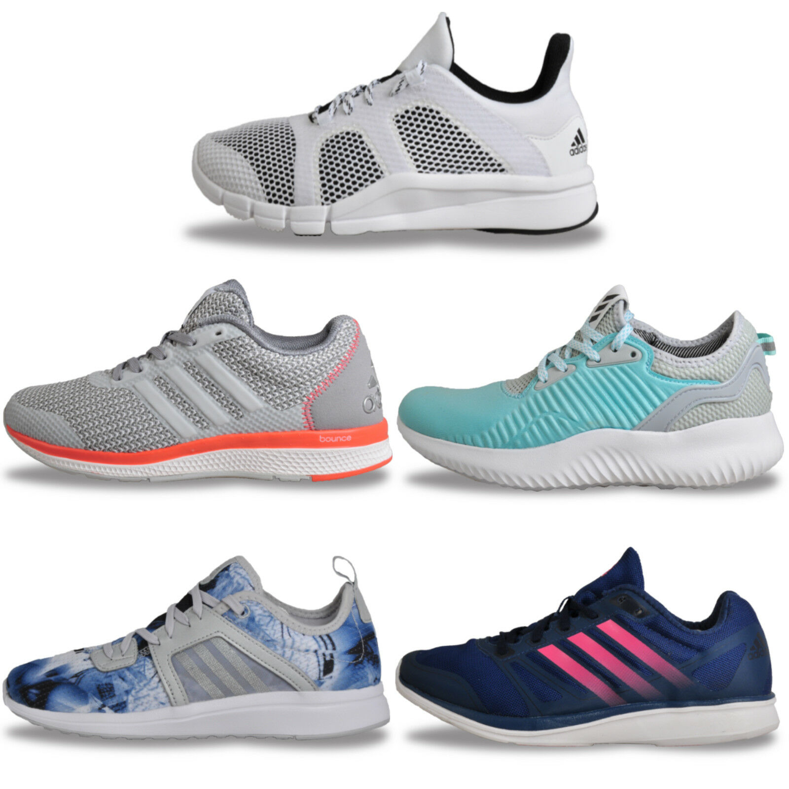 Womens Adidas Premium Running shoes Gym Fitness Trainers From