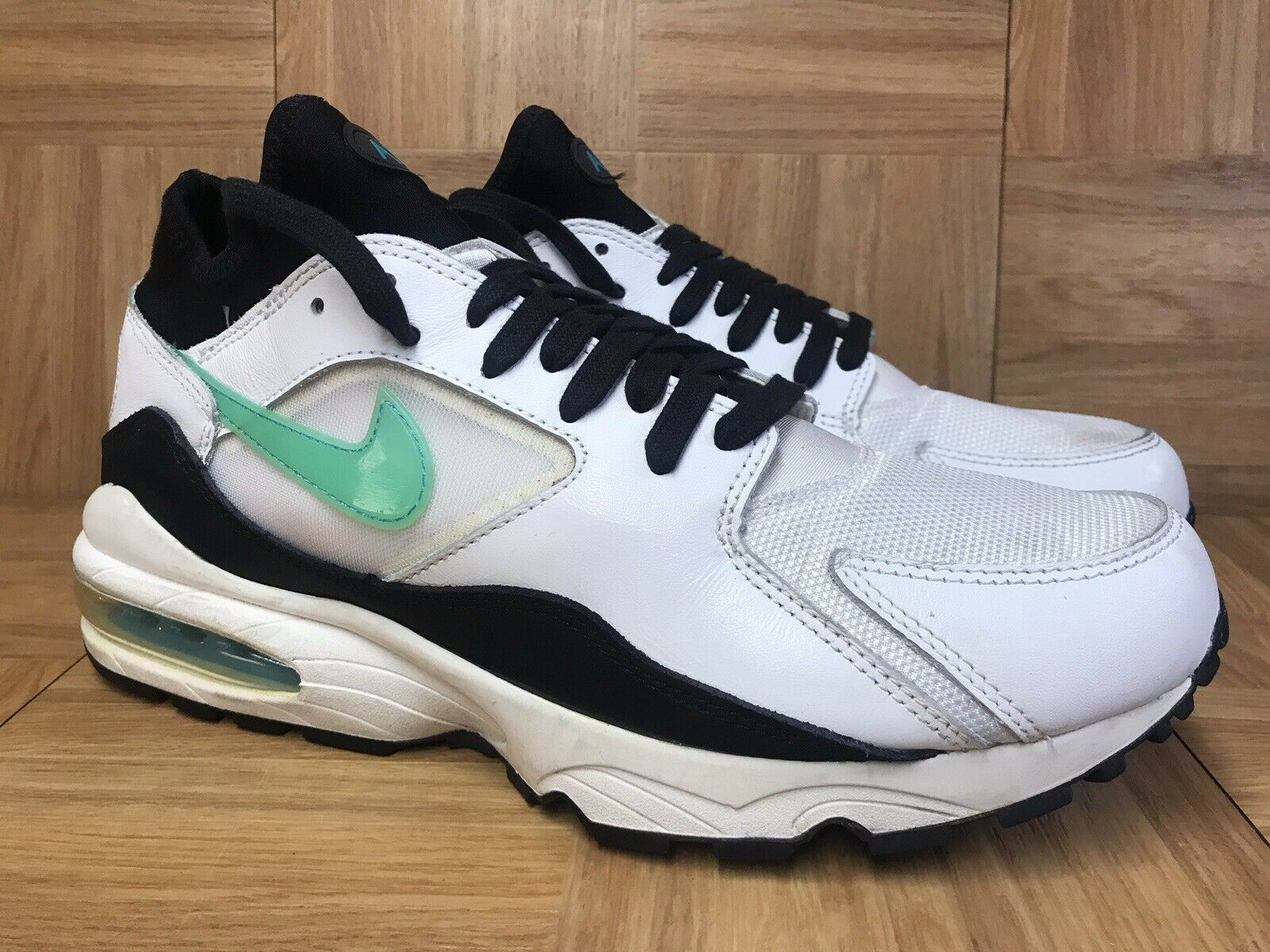 RARE Nike Air Max '93 Dusty Cactus Black Menthol 10.5 306551-103 Men's shoes