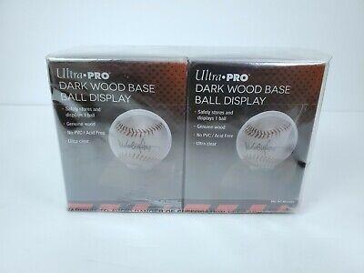Sporting Goods Display Cases tpr.sa Ultra PRO Dark Wood Base ...