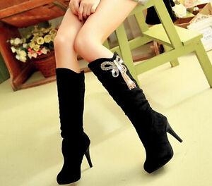 Botines-botas-strass-muslo-mujer-talon-10-cm-negro-como-piel-comodo-9108