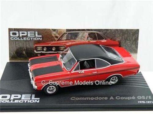 OPEL COMMODORE A Coupe GS//E MODELLO DI AUTO 1//43 1970-1971 2 PORTE VERSIONE R0154X ~ # ~