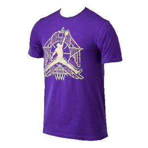 Jordan Shirt 635297-547 Purple Small Mens Crescent City Jeptall