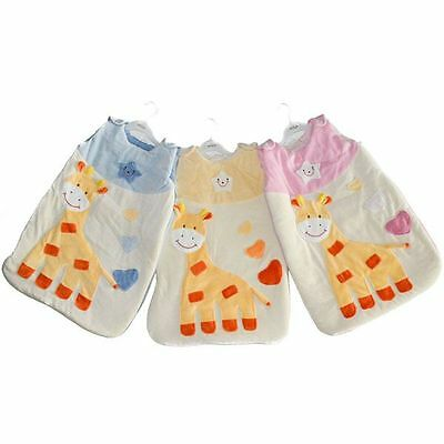 Baby Schlafsack Strampelsack *Giraffe*0-6 Monate Pucksack Babyschlafsack Fußsack