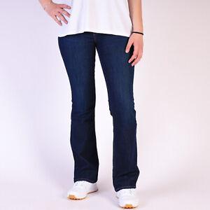 Levi-039-s-715-Bootcut-blau-Damen-stretch-Jeans-30-32