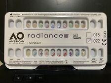 American Orthodontics Radiance Brackets Clear Mbt 22
