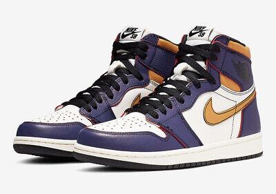 Nike Air Jordan 1 HIGH OG Defiant SB Lakers LA Chicago UK 8 9 10 11 US aj1 | eBay