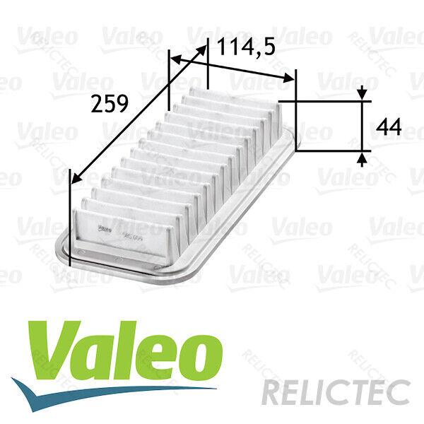 VALEO Engine Air Filter Fits CITROEN C1 DAIHATSU PEUGEOT SUBARU TOYOTA 1444PV