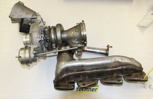 Abgasturbolader-Turbolader-Mercedes-Benz-W204-180-CGI-NEU-Orig-IHI-A2740902280