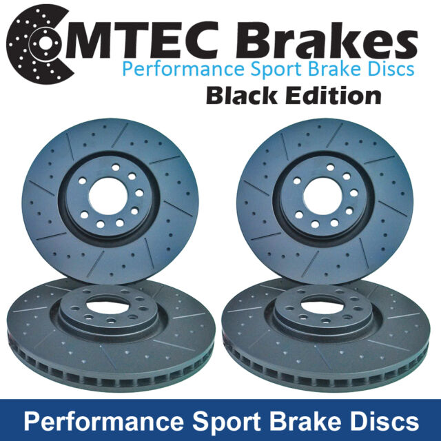 Toyota MR2 1.6 Supercharged AW11 86-90 Black Edition Front and Rear Brake Discs