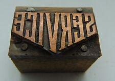 Printing Letterpress Printers Block Service Copper Plate
