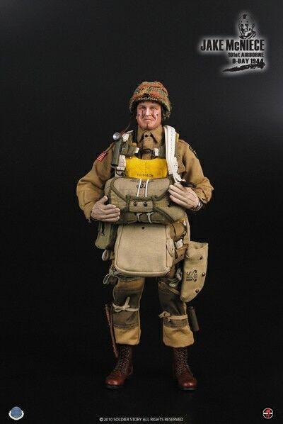 Figur 1 6 Soldier Story Jake Mc Niece 101St Airborne Div. Normandie 44