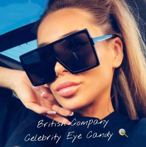 SAME DAY DISPATCH  A15 SQUARE SUNGLASSES Big SHIELD Celebrity LOVE Ibiza PARTY