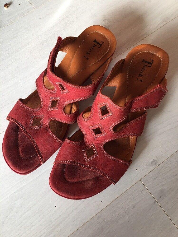 Think Sandale Sandale Think Rot 41 41 Rot Mit Aktuellen Deerberg Katalog ... 6d7f0e