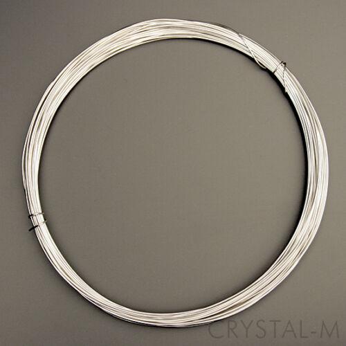 3 Meter Silberdraht !! 925er Sterlingsilber 0,50 mm