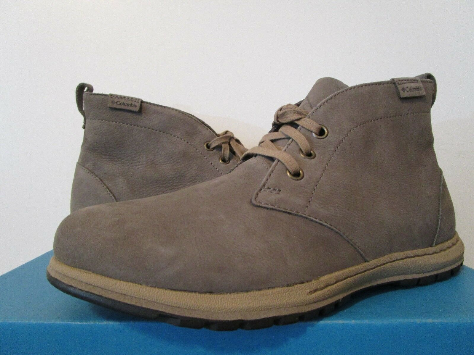 Mens 7-8-8.5-9-11.5 Columbia Three Passes Desert Casual Lace Up Boots - Quarry