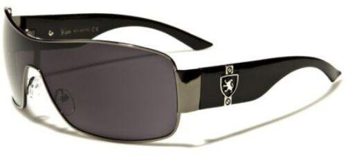 NEW KHAN MENS LADIES BLACK WHITE DESIGNER CELEBRITY RECTANGLE UV400 SUNGLASSES