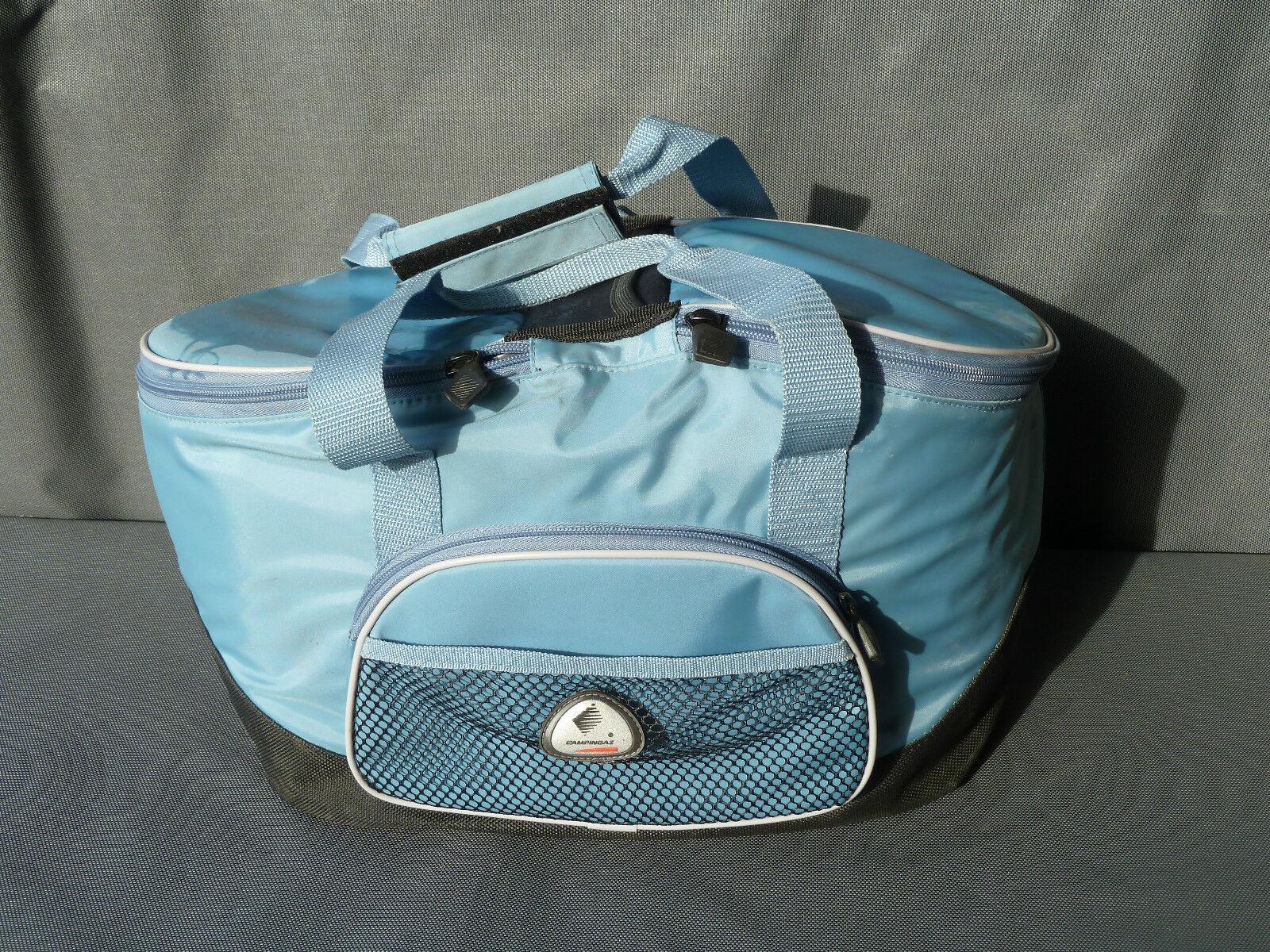 Ex borsa Campin Cooler gaz, cestino popolare pic-nic art popolare cestino antico francese 6379d1