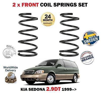 2x Rear Coil Springs for Kia Sedona MK II 2.9 2006-2014