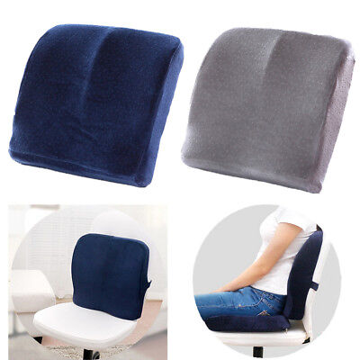 Seat Cushion For Back Pain >> Home Office Chair Car Seat Cushion Lumbar Support Pads Lower Back Pain Pillows Ebay