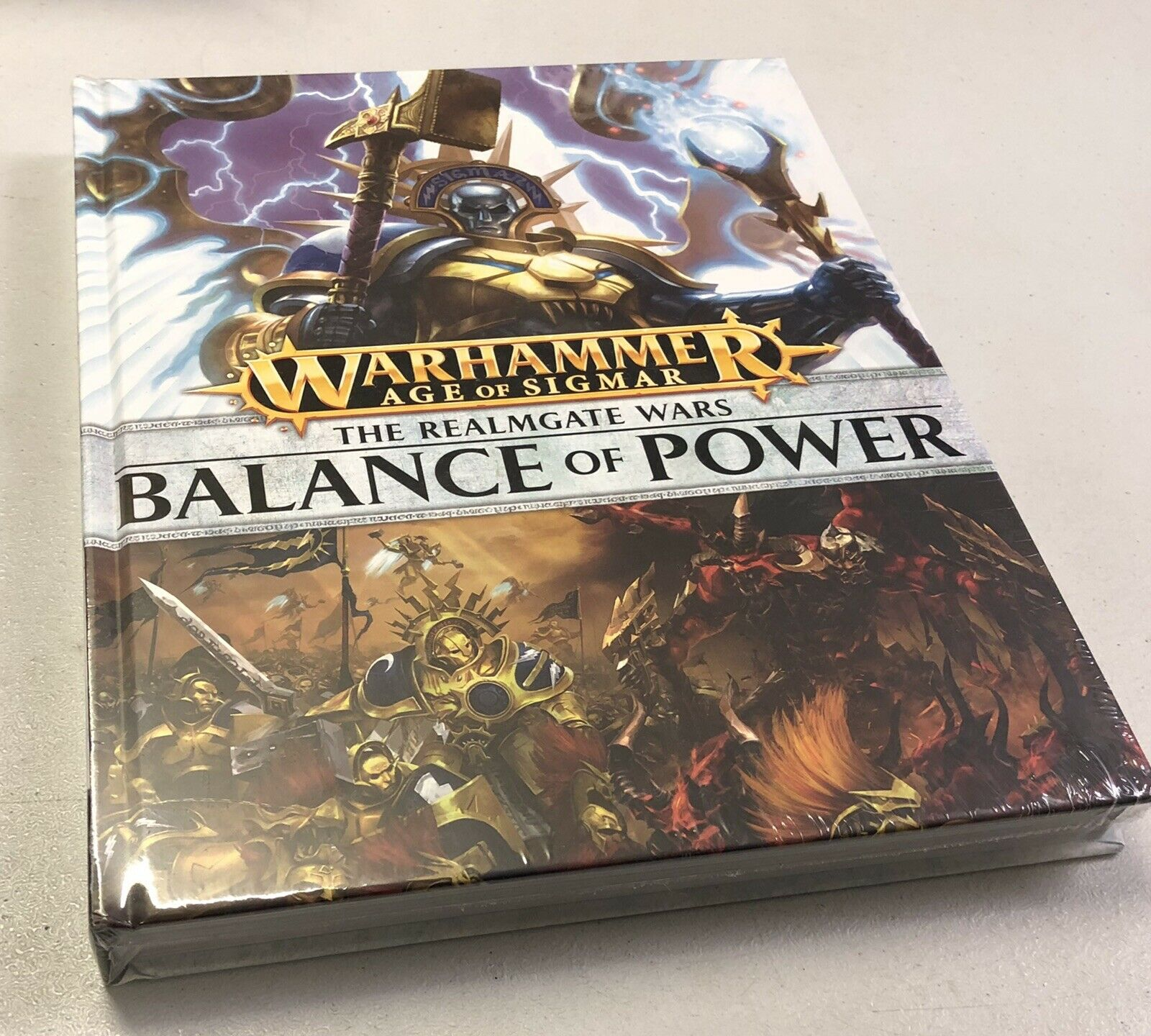 Warhammer Age of Sigmar The Realmgate Wars Balance of Power Book New