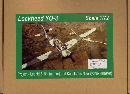Croco Models 1//72 LOCKHEED YO-3 QUIET STAR