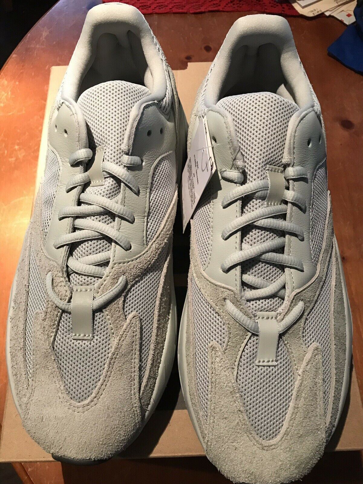 NEW Adidas Yeezy 700 Salt SIZE 11.5 100% Authentic from Adidas In Hand Ships Now