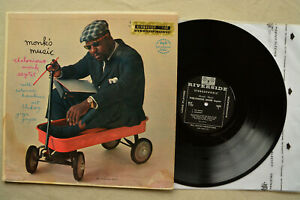 THELONIOUS-MONK-Monk-039-s-Music-RLP-1102-Riverside-Records-LP-1958-MONO-VG