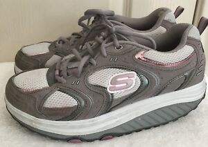 Womens SKECHERS SHAPE UPS 11806 Gray