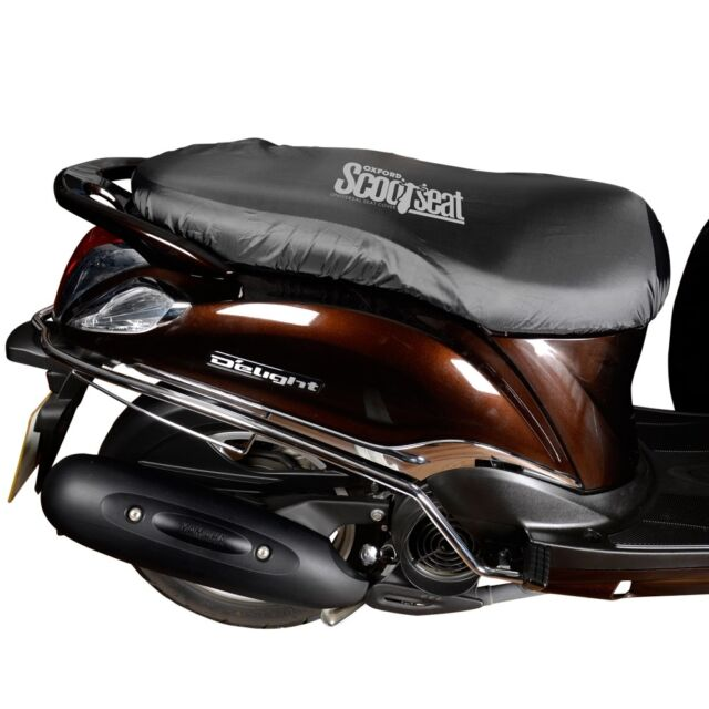 Oxford Protex Stretch Motorcycle Premium Stretch-Fit Indoor Cover MediumBlack