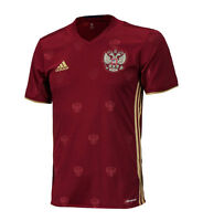 Adidas Russia National Team Euro16 Home Jersey Aa0353 S/s Shirts Soccer Football