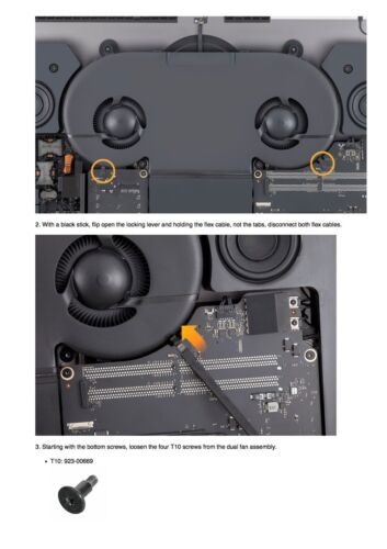 iMac 27-inch Pro 2017 Service Guide to Repairing//Reassembling