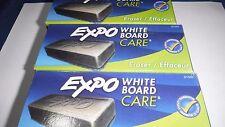 Expo Block Eraser 81505 Dry Erase Whiteboard Board Eraser Soft Pile 5 1/8 W X