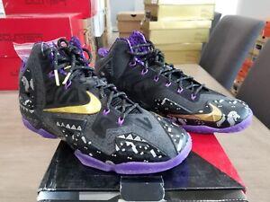 sports shoes 3f608 f639d Image is loading NIKE-LEBRON-11-XI-034-BHM-034-SIZE-