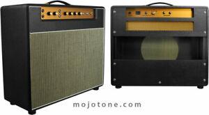 Mojotone-Front-Mount-British-18-Watt-Style-Guitar-Amplifier-1x12-Combo-Cabinet