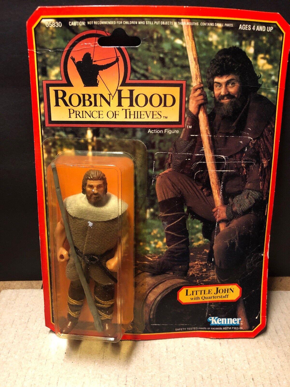 Little John Quarterstaff Robin Hood Prince of Thieves Action Figure Kenner 1991
