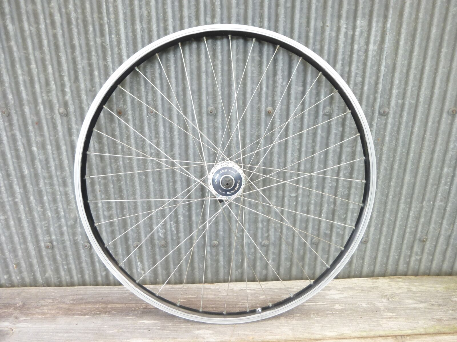 Clincher Front Wheel, SHIMANO DURA-ACE  NJS Hub, Lica alloy rims 700c  buy discounts