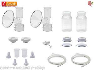 Ameda Dual Hygienikit 25 mm Flangia Seno Pompa Parti Kit #17155