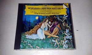 Mendelssohn: A Midsummer Night's Dream (1985) CD ON DG DEUTSCHE GRAMMOPHON