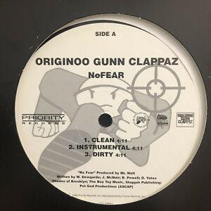 """O.G.C. (ORIGINOO GUNN CLAPPAZ) - NO FEAR / DA STORM (12"""")  1996!!!  RARE!!!"""