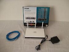 D-Link Xtreme Wireless-N Gigabit Broadband Router Qos 300N DHCP 802.11n DIR-655