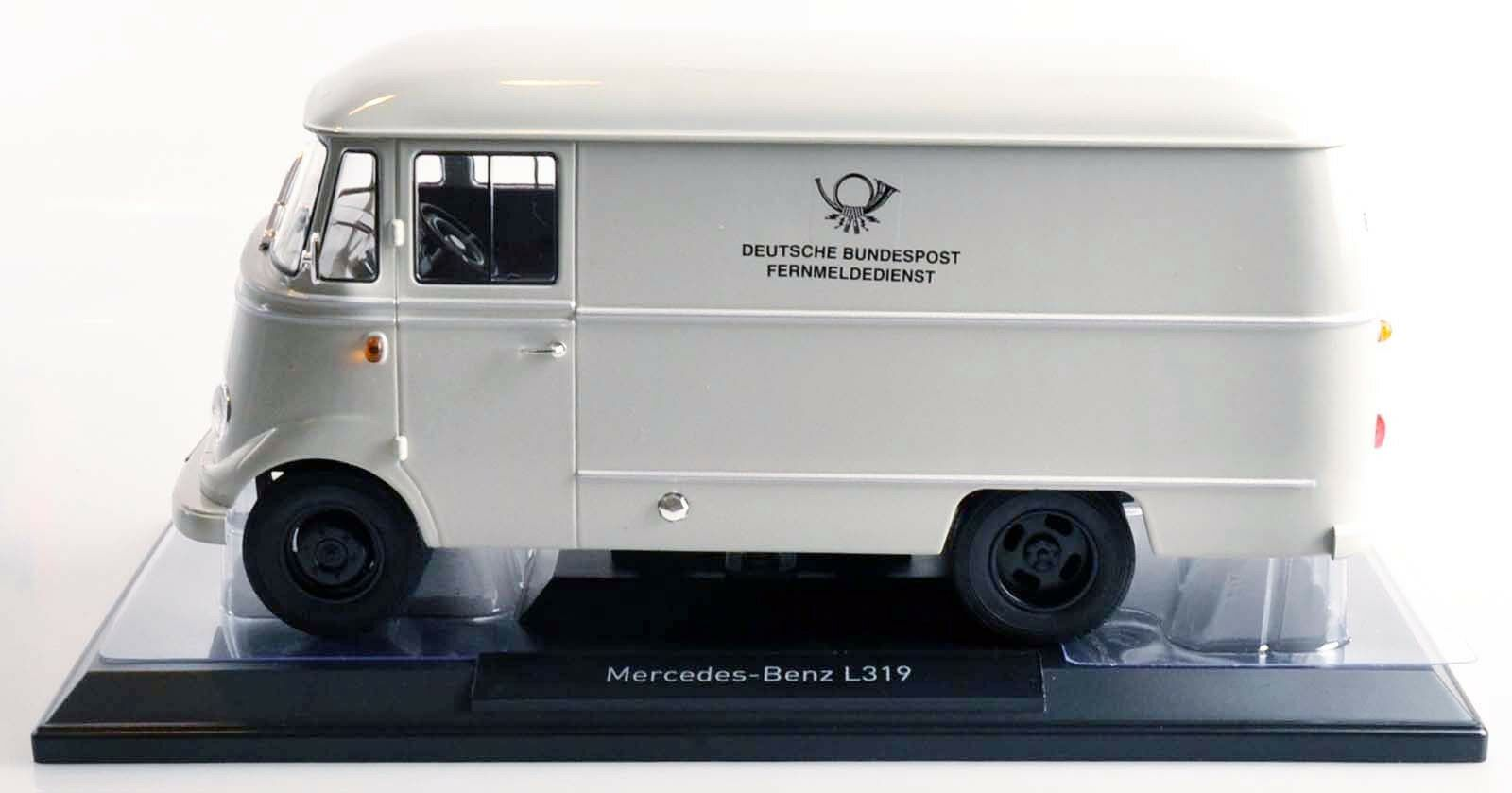 NOREV 183417 183417 183417 Mercedes-Benz L 319 1957  Deutsche Post  1 18 NEU OVP e2868c
