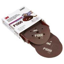"3M Flexible Abrasive Hookit Disc Dust Free P1000 6"" 34407 Sanding Paper 25 Pack"